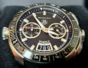 Tag Heuer Mercedes Benz Slr Chrono Type. Limited Edition Cag2111 With Box Mint