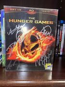 Autographed Signed The Hunger Games Blu-ray Sdcc 2012 Rare Comic Con Slipcover
