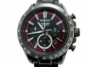 Seiko Used Watch Automatic Chronograph Date Display St.steel Back Skeleton