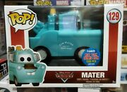 Funko Pop Nycc Exclusive 2015 Disney Cars Tow Truck Mater Le 1500
