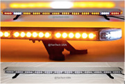 60andrdquo Amber Led Light Bar Flat Bed Tow Truck Plow Roll Back W/ Alley And Turn Signal