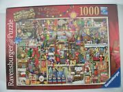 New Ravensburger Colin Thompson The Christmas Cupboard 1000 Piece Puzzle