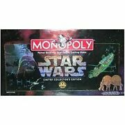Board Games Star Wars Monopoly 20th Anniversary Edition