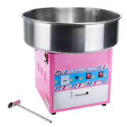 Winware By Winco Showtime Cotton Candy Machine And Display Ccm-28