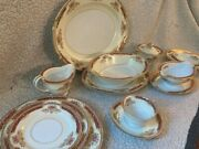 Noritake China Made In Occupied Japan Mystery Hostess Serving Set