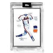 2021 Topps Artist Proof /86 Once Upon Time In Queens 1 Uniform Mets Petruccio