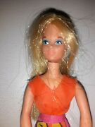 Rock Flower Doll Heather With Originaloutfit Vintage
