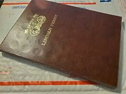 Dansco Lincoln Penny Book 1909 - 1990 D. W/197 Coin Slots Filled Of 240.