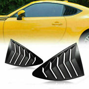 Carbon Side Window Louver For 2013-2018 Scion Frs Brz Toyota 86 Gt86 Ae86 Sa