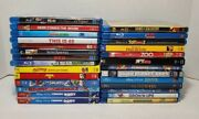 27 Movies Big Blu Ray Movie Lot Bluray Discs Toy Story,cars ,brave,finding Dory