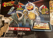 Star Wars Angry Birds Telepods Death Star Trench Run-new, Damaged Box