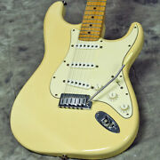Used Fender Usa American Stratocaster Olympic White Electric Guitar
