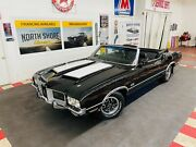 1971 Oldsmobile 442 - Convertible - Triple Black - Numbers Matching - Black Oldsmobile 442 With 784 Miles Available Now