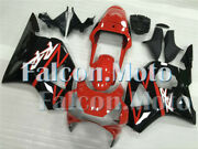 Red Black Injection Fairing Fit For 2002-2003 Honda Cbr900rr Cbr 954rr Abs Oas