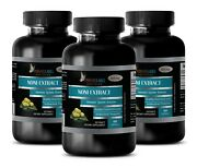 Mulberry - Noni Extract 500mg - Improves Good Cholesterol Levels - 3 Bottles