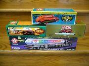 Lot Of 4 Ertl Texaco Diecast Metal Limited Collector Series Truck Coin Banks New