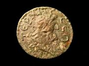 Pisidia. Termessus Major. 2nd-3rd Cent Ad. Ae 26. Zeus Head. King W Trophy.