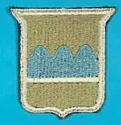 World War 2 80th Infantry Division Ssi Full Emb. W/ Black Back Exc. Cond. 2