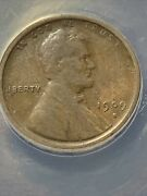 1909-s Lincoln Cent Wheat Penny. F12