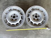 Campagnolo Wheel 7 1/2 K X 15 H2 Inch A Pair Of 1984 Italian