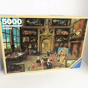 Ravensburger Gallery Of A Collector Rare 5000 Piece Puzzle