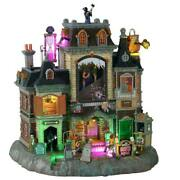 2021 Lemax Spooky Town The Horrid Haunted Hotel Brand New Halloween Village
