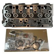 Fits Kubota D1105 Rtv1100 Rtv1100cw9 Rtv1140cpx Complete Cylinder Head And Gasket
