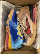 Nike Lebron 18 Low Wile E. Vs Roadrunner Space Jam Size 11 In Hand Free Shipping