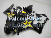 Black Yellow Abs Injection Mold Fairing Fit For 2006 2007 Cbr 1000rr Bodywork At