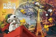 1000 Piece Jigsaw Puzzle Peanuts Flying Ace In Paris 50x75cm Fromjapan