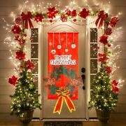 Wall Hanging Xmas Party Decor Outdoor Banner Home Christmas Decoration Ornaments