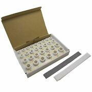 X30 Reusable Ceramic Ring Sizing Pellets Firing Pmc Silver Art Clay Rings 20mm