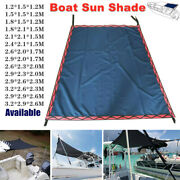 Boat Top Extension Flat Top Boat Sun Shade Cover Canopy Top Mounts On Tower 600d
