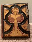 Antique Holy Bible Douay And Rheims 1800s