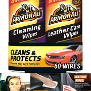Armor All Car Cleaning And Leather Wipes - Interior Cleaner For Cars And Truck ...
