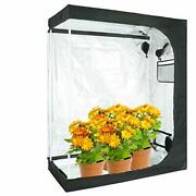 48x24x60 Reflective Mylar Hydroponic Grow Tent For Indoor Plant Growing 4x2