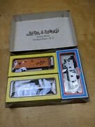 Vintage Model Power Train Cars Ho Scale - Transfer Caboose, Freight, Chlorine