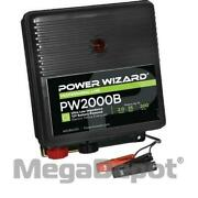 Power Wizard Pw2000b, Battery Electric Fence Charger, 2 Joule Output