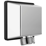 Delta 50570 Square Wall Supply Elbow For Hand Shower Hose - Chrome