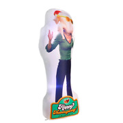 Photorealistic Monica Turkey Head Air Blown Inflatable Holiday Decor Home Use 6and039