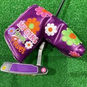 Scotty Cameron Putter My Girl Frower Power Limited To 1500 Pieces33 Inches