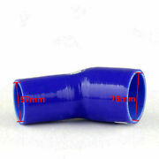 Elbow 45 Degree 51mm 76mm Silicone Pipe Hose Coupler Intercooler Turbo Intake Sg