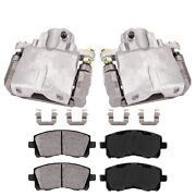 Rear Oe Brake Calipers And Pads For Cadillac Cts Sts