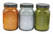 Patio Essentials 22946 Mason Jar Candle For Flying Insects 19.4 Oz. Pack Of 6