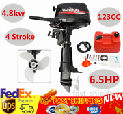 6.5hp Outboard Motor 4stroke Boat Engine Water-cooled Short Shaft Cdi System Us