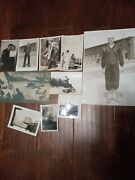 1940s Ww2 Us Navy And Photograph Grouping Pearl Harbor Era Envelope Must Lqqk
