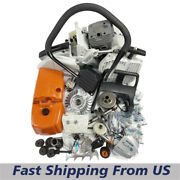 Chainsaw Complete Repair Kit Fuel Tank Rear Handle Housing For Stihl Ms380 038