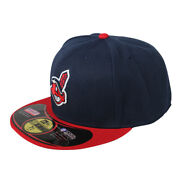 New Cleveland Indians Mlb New Era Authentic Home 59fifty Fitted Baseball Hat