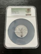 2020 Mexican Silver Libertad Reverse Proof Ngc Pf 70 2 Oz Coin
