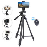 Aluminum Alloy Camera Tripod Stand Holder For Canon Nikoncell Phone Remote Dslr